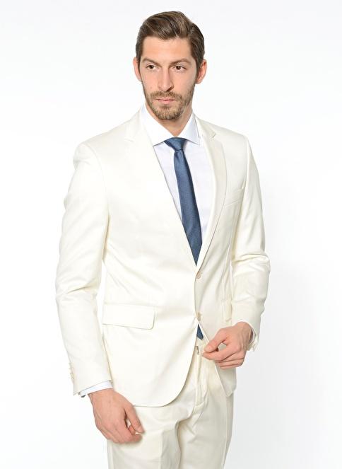 Pierre Cardin Klasik Ceket Krem